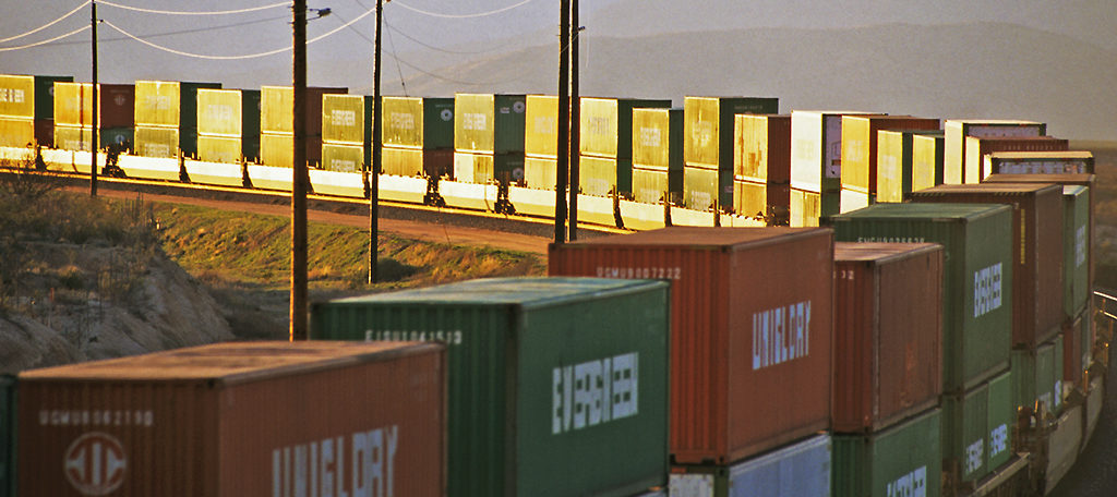 Evergreen-Intermodal-Stacks-Sunset